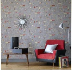 Retro home wallpaper ideas