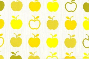 Colourful apple wallpaper