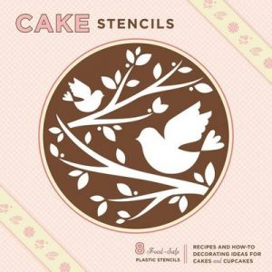 Cake stencil cake decorating kit