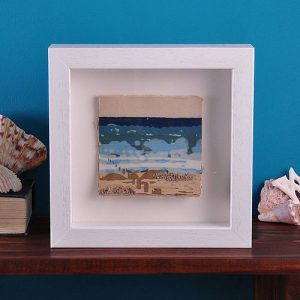 Katie Mac ceramic seascape framed tile