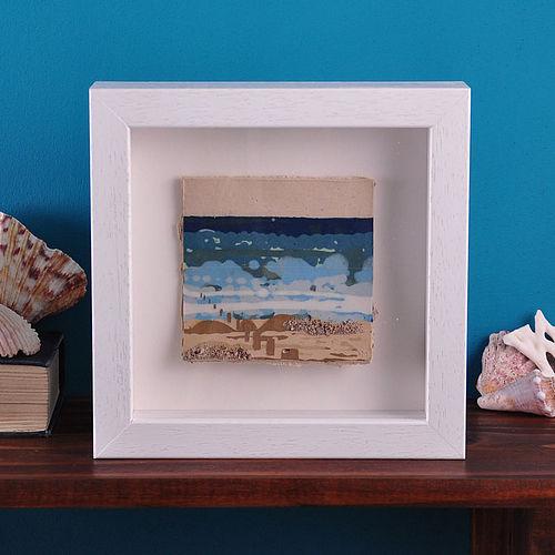Katie Mac Ceramic Seascape Framed Tile Cosy Home Blog