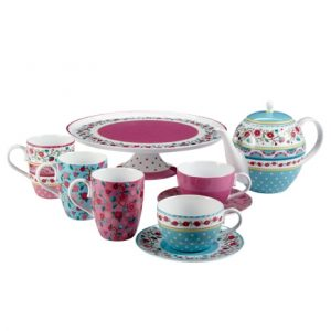 Vintage patchwork style china