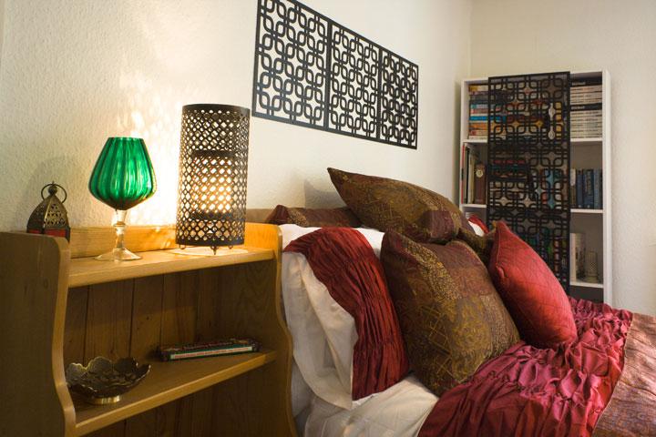bedroom cosy home