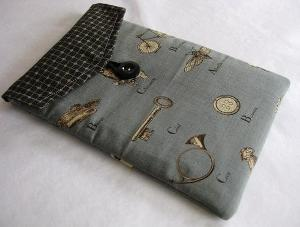 Fabric Kindle case cover