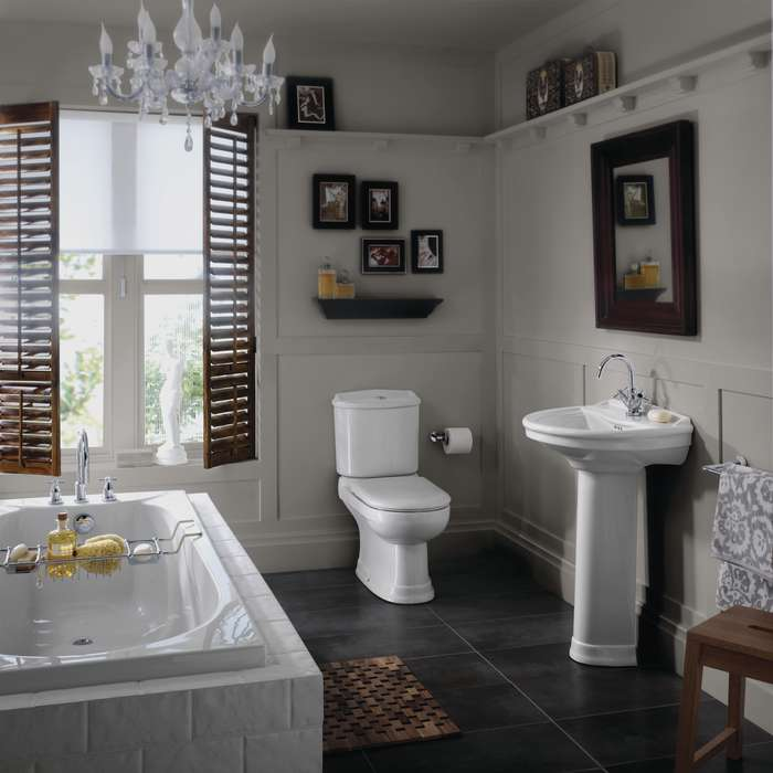 Bathroom cosy home blog for Classic small bathroom ideas