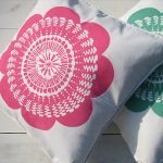 Blooming Lovely flower design cushions by Bubble and Tweet