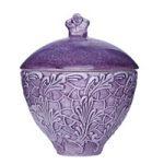 Mateus Ceramics purple lace bowl
