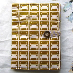 Retro Folksy car gadget kindle cover