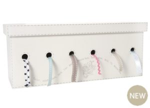 Wooden ribbon storage box from Laura Ashley