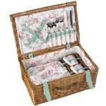 Cath Kidston bleached flowers picnic hamper