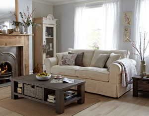 New Country Living sofa range at DFS
