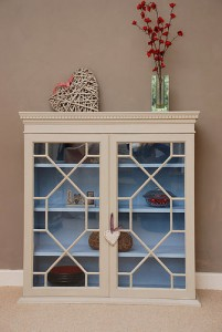 Lovely glazed bookcase from Pippin and Tog