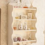 Painted shelf unit from La Vie en Rose