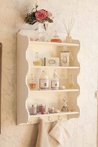 Painted Shelf Unit From La Vie En Rose Cosy Home Blog