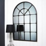 Arched window mirror from Graham and Green