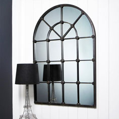 Arch window mirror from Graham and Green