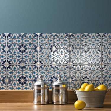 Fired earth andalucia tiles cosy home blog - Carrelage pour credence cuisine ...