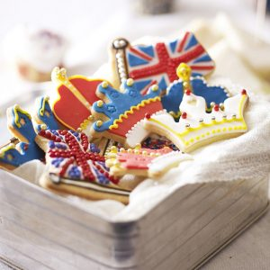 Diamond Jubilee cookie cutters from Lakeland