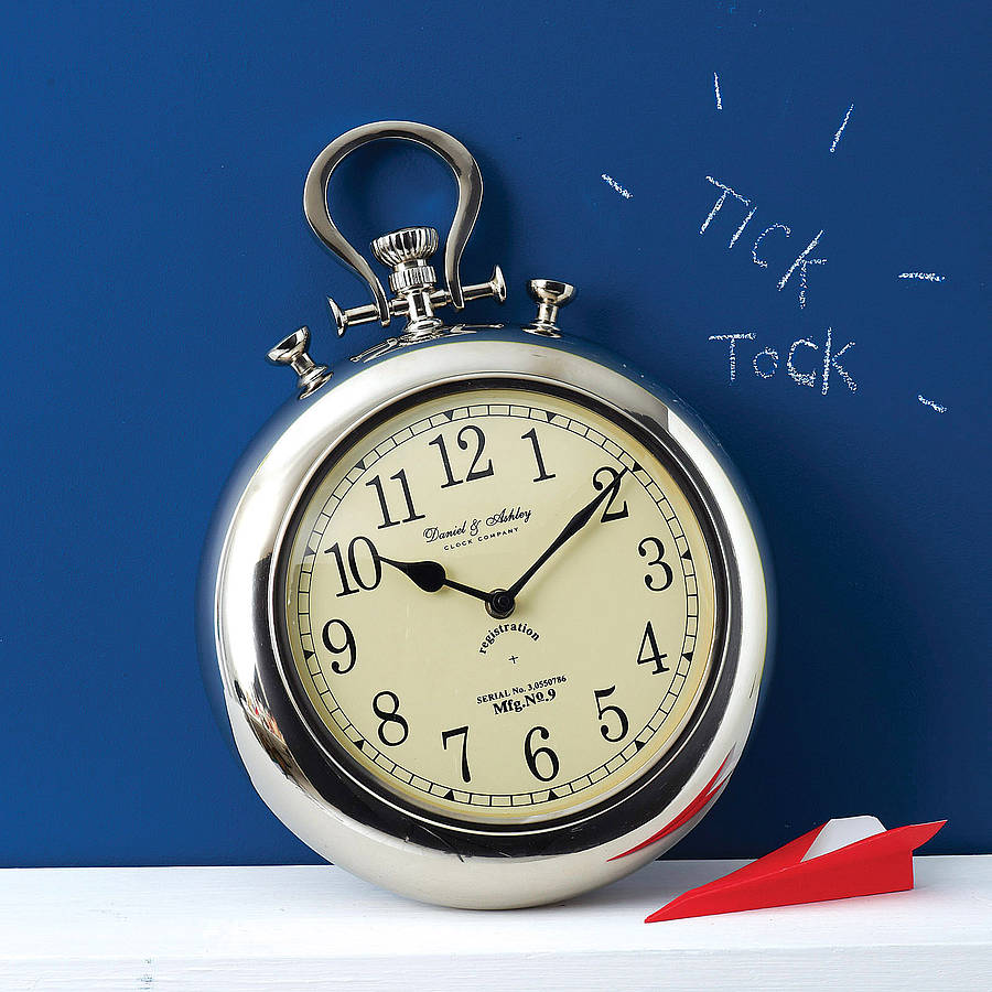 Giant Pocket Watch Wall Clock Cosy Home Blog