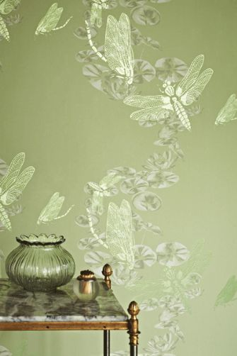 Wallpaper cosy home blog part 2 for Green wallpaper for walls