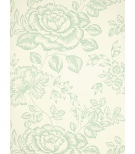 Best vintage shabby chic rose wallpaper