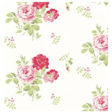 Vintage rose shabby chic rose wallpaper