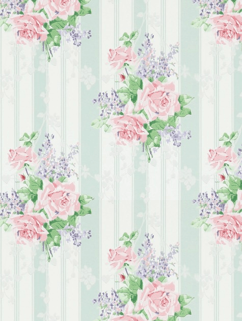 If you love classic vintage rose wallpapers, you can't help but love this one.