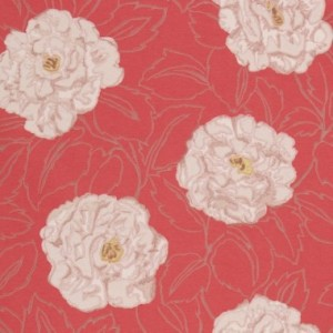 Harlequin vintage rose wallpaper