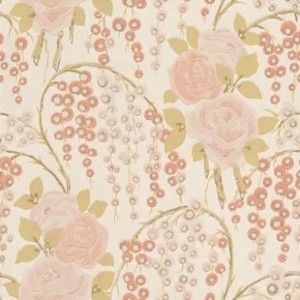 Classic vintage rose wallpaper