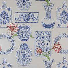 Jane Churchill designer fabric curtains