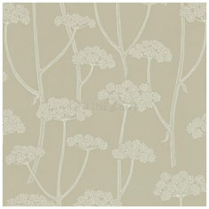 Sanderson Anise wallpaper in natural linen