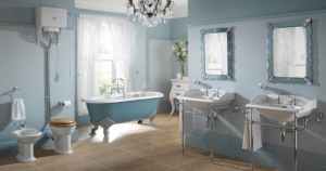 Designing a traditional bathroom