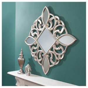 Wow factor feature wall mirrors