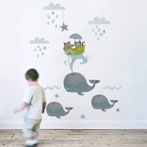 Children's nursery wall decor ideas