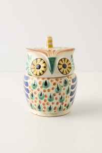 Anthropologie kitchenware goes owl mad