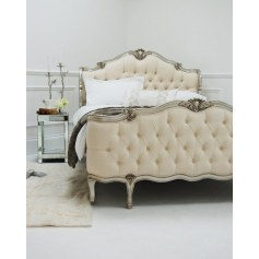 Shabby chic king size bed