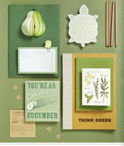 Cosy home vintage stationery