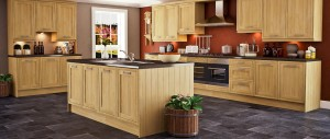 Traditional kitchen for a cosy home