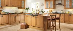 Cosy kitchens solid oak kitchen