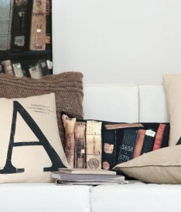 Home furnishings and decor for book lovers