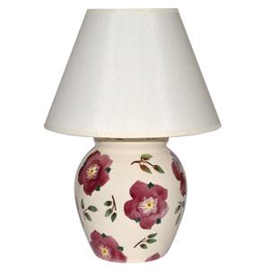 British handmade pottery lamp base
