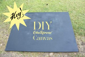How to make a chalkboard for your home