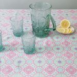 Moroccan style tablecloth from Pompom and Twiddle