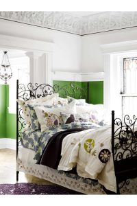 Dawning Lark ornate bed from Anthropologie