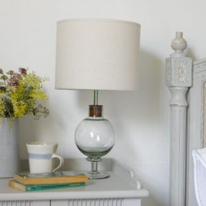 Buoy glass table lamp from Loaf