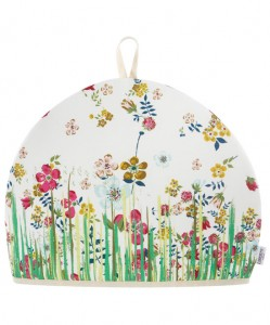 Grass Liberty print tea cosy