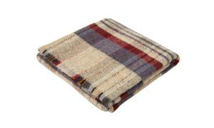 Winter warmer: Cosy recycled wool rug