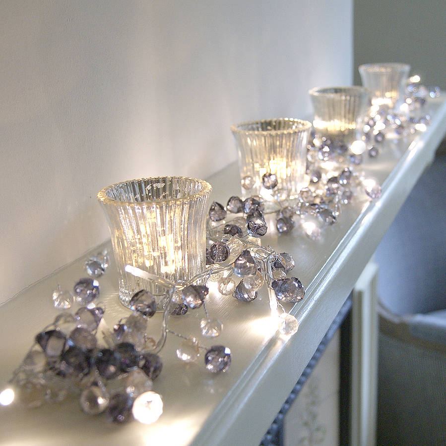 Create a cosy home with a crystal light garland cosy home blog