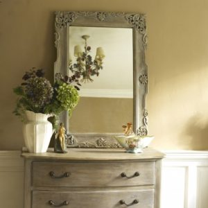 Carved decorative handmade mirror