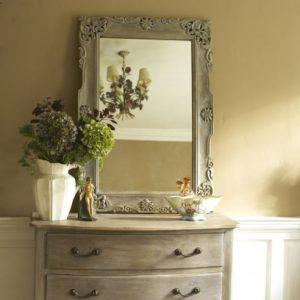Carved decorative handmade mirror